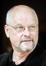 schrijver Paul Gellings, gefotografeerd: Zuiderdiep, Groningen